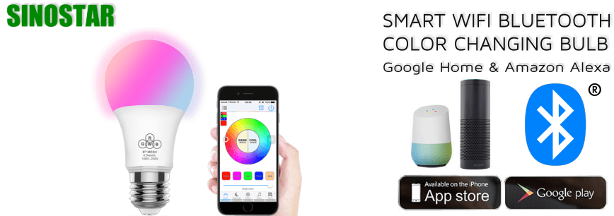 Bluetooth Color Bulbs